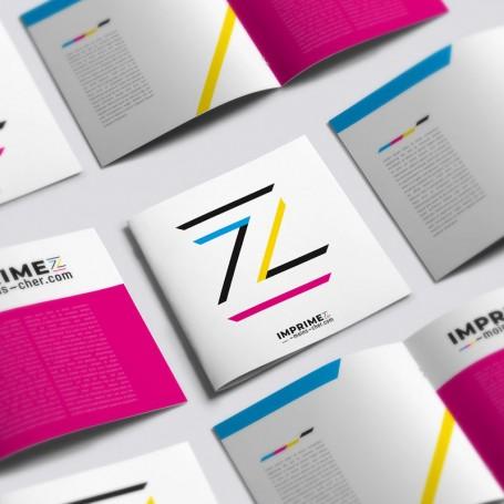 Brochures format 15x15cm